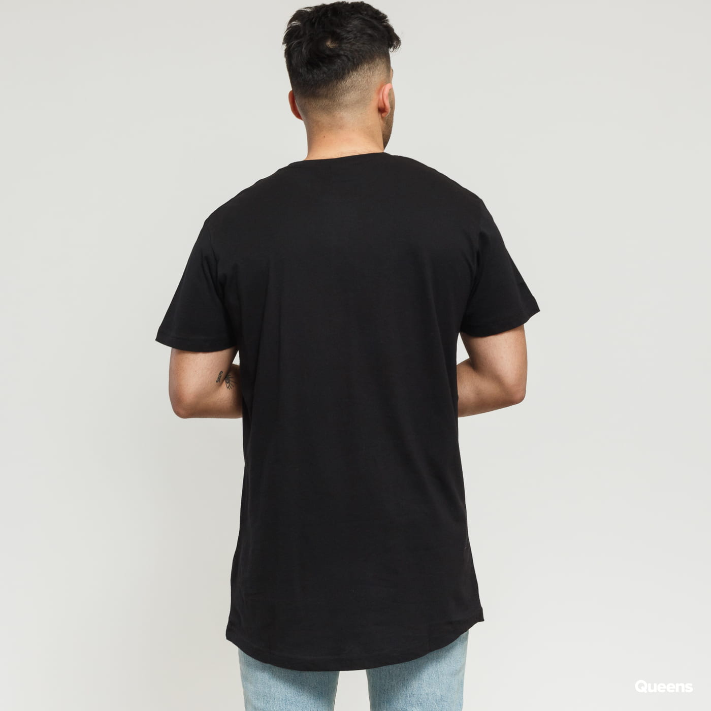 Urban Classics Shaped Long Tee 3 Pack black