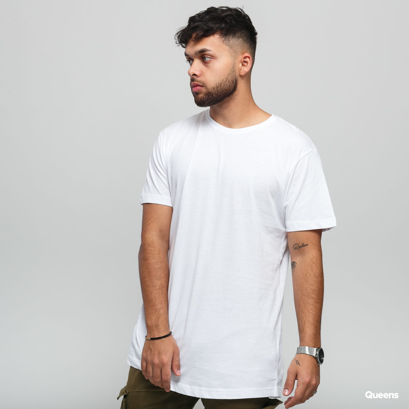 Urban Classics Shaped Long Tee 3 Pack weiß
