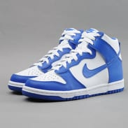 Nike Dunk High (GS) white / game royal