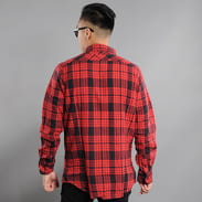 Urban Classics Checked Flanell Shirt 2 red / black