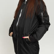 Urban Classics Ladies Long Bomber Jacket čierna
