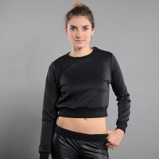 Urban Classics Ladies Scuba Cropped Crew