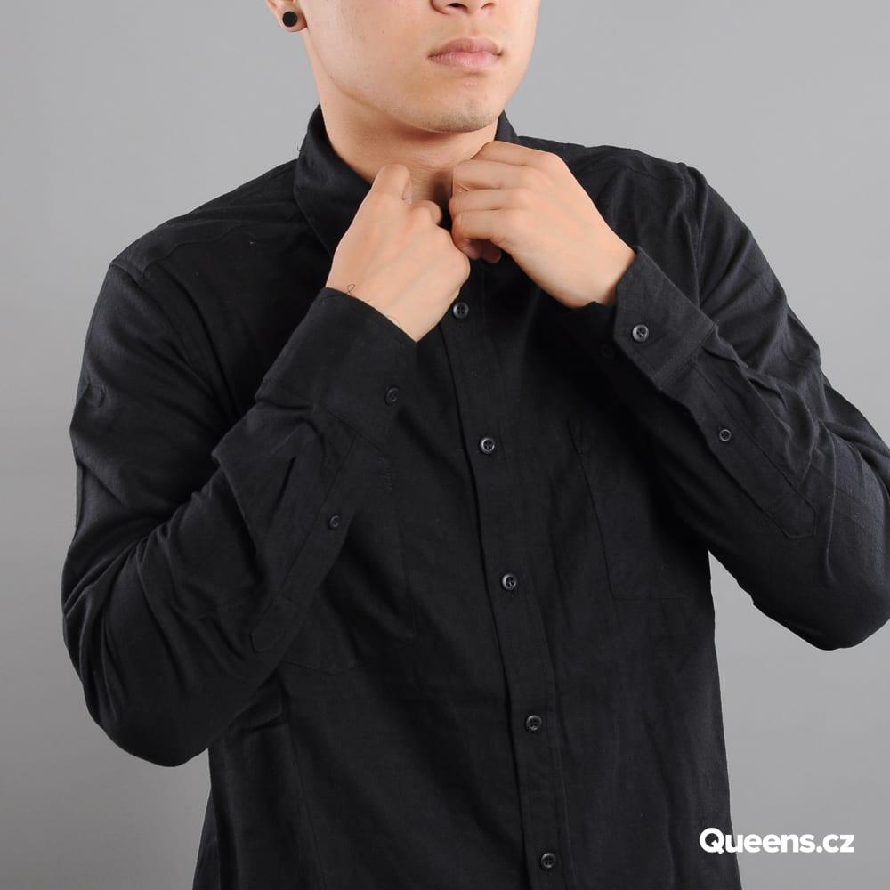 Urban Classics Checked Flanell Shirt čierna
