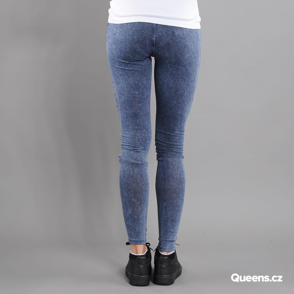 Urban Classics Ladies Denim Jersey Leggings blue