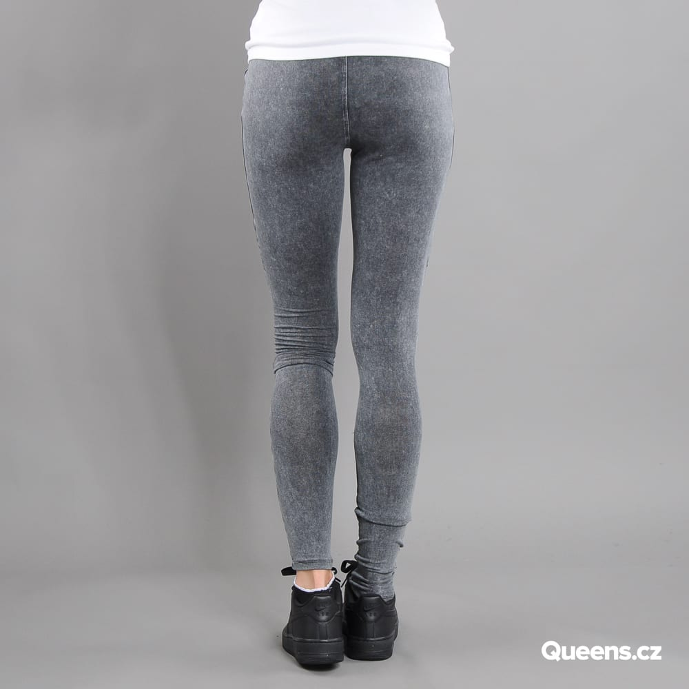 Urban Classics Ladies Denim Jersey Leggings tmavošedé