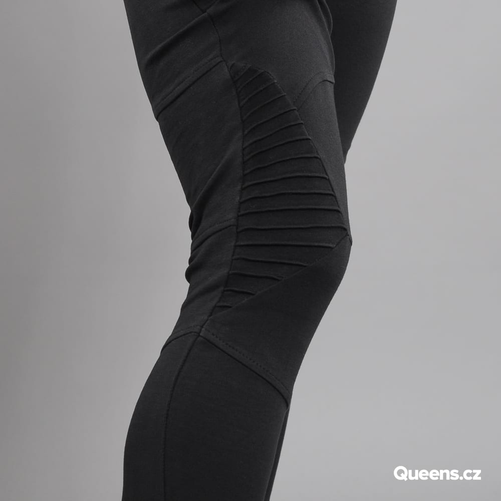 Urban Classics Ladies Interlock High Waist Leggings čierne