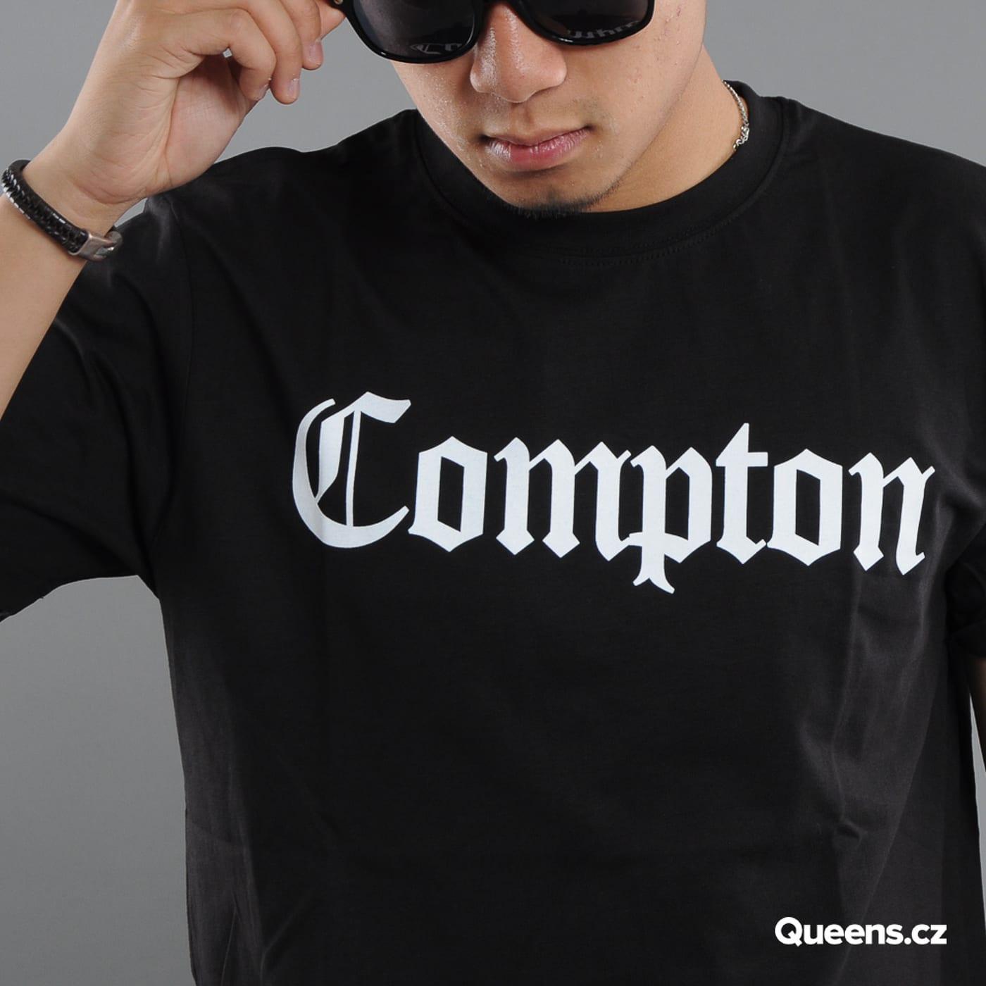 Urban Classics Compton Tee čierne