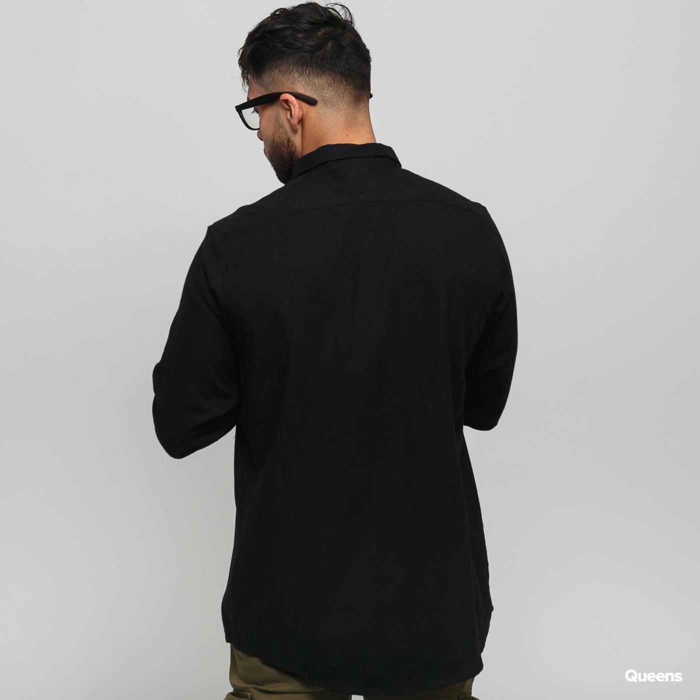 Urban Classics Checked Flanell Shirt black