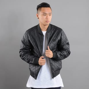 Urban Classics Diamond Quilt Leather Imitation Jacket
