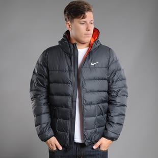 Pánská zimní bunda Nike Alliance 550 Jacket Hoody – Queens 💚 f751a0d8ca9