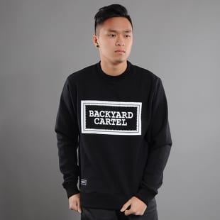 Backyard Cartel Label Logo Crewneck