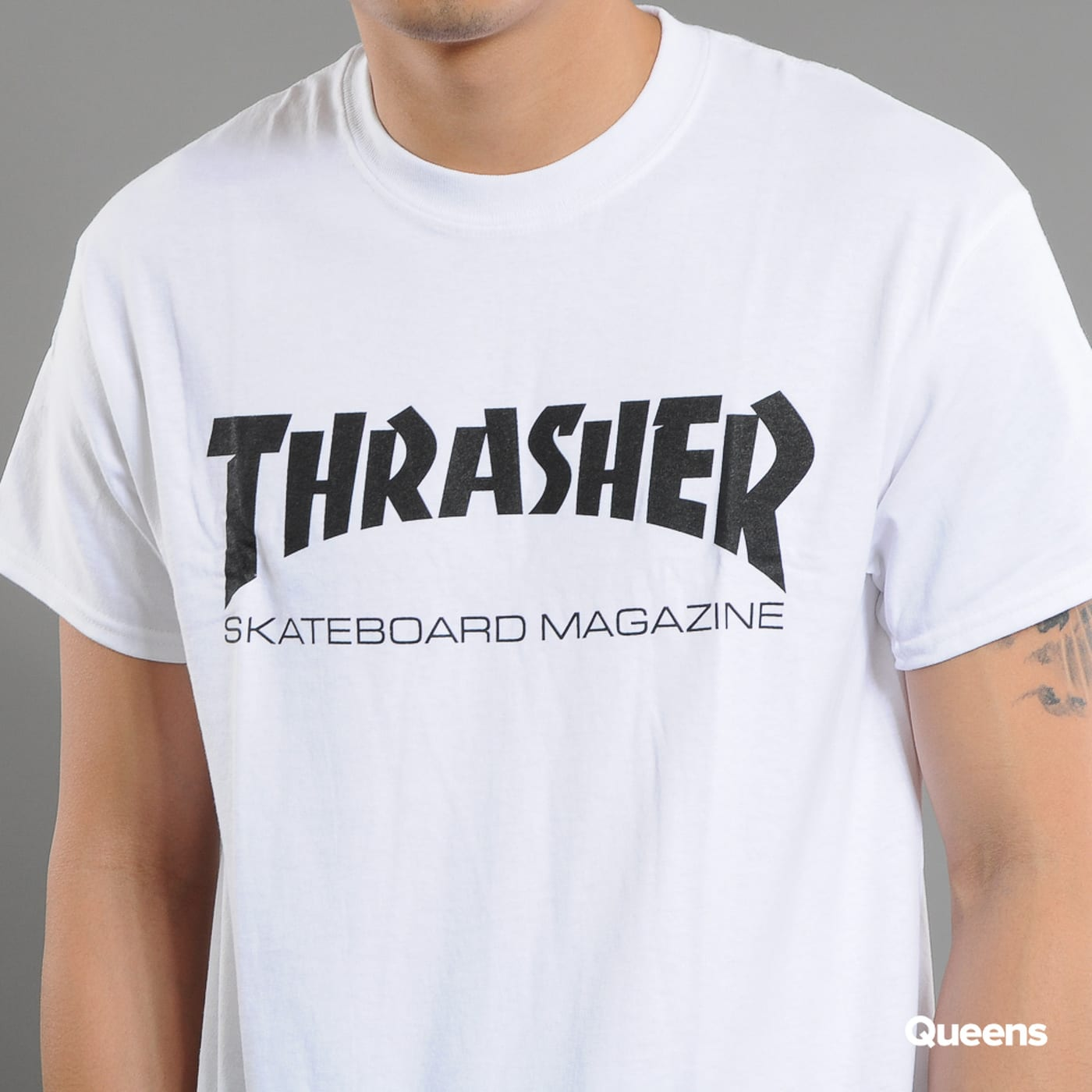 Thrasher Skate Mag weiß