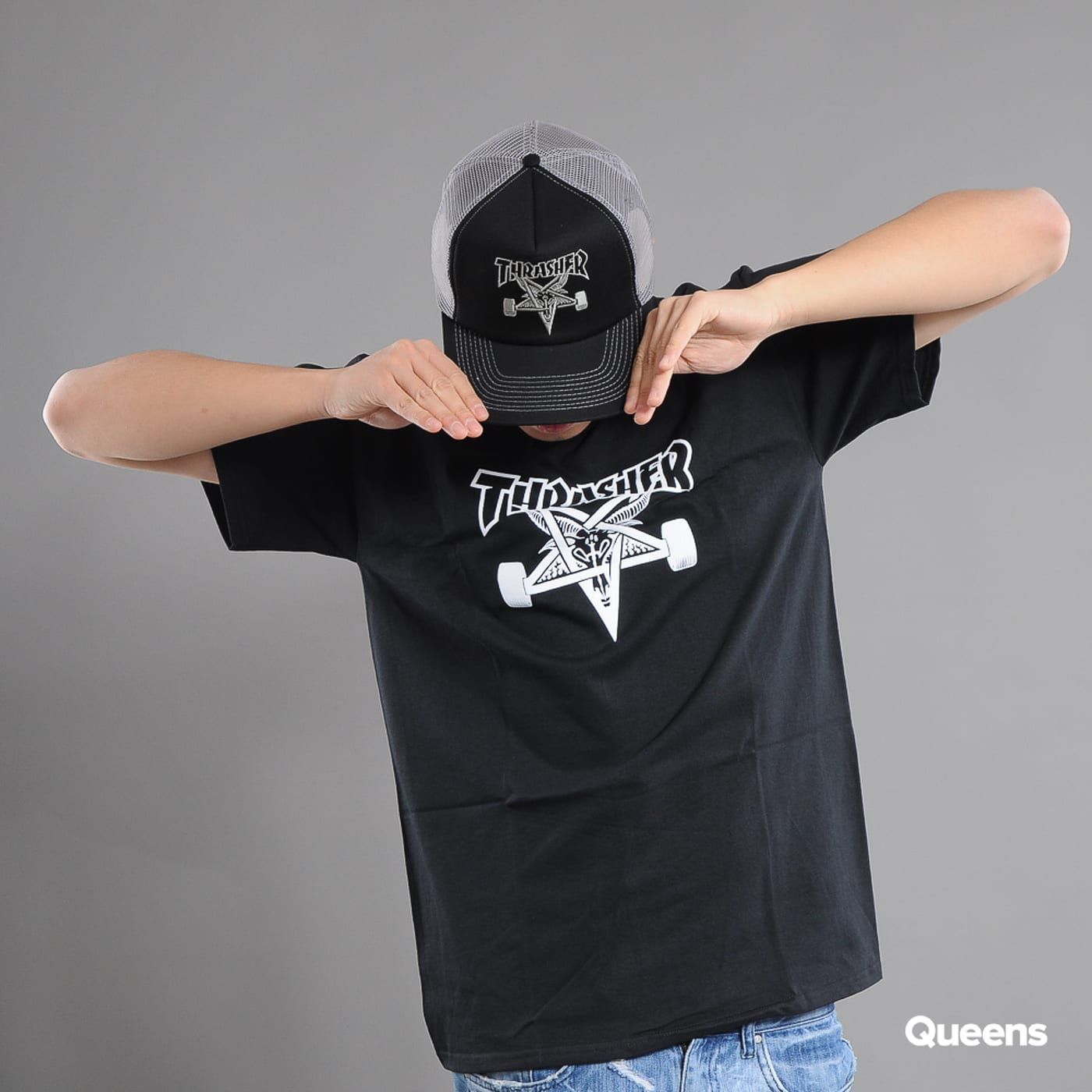 Thrasher Skategoat black