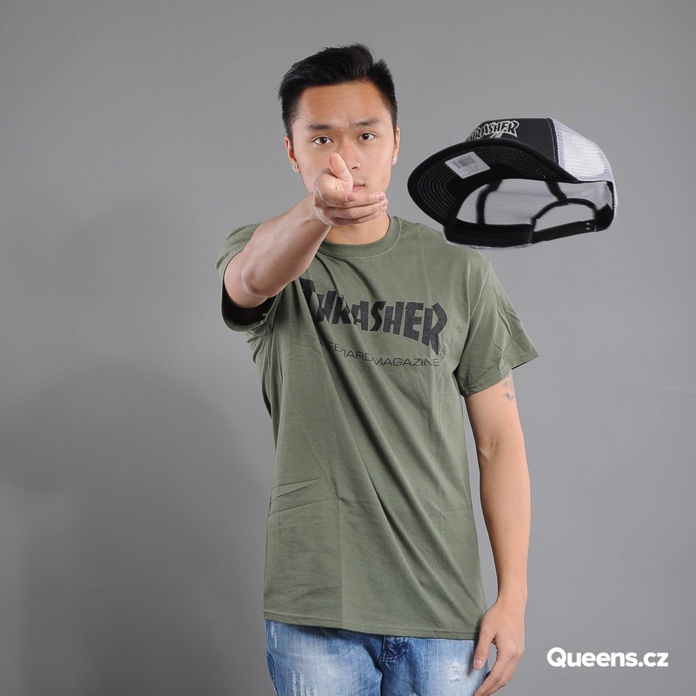 Thrasher Skate Mag olive