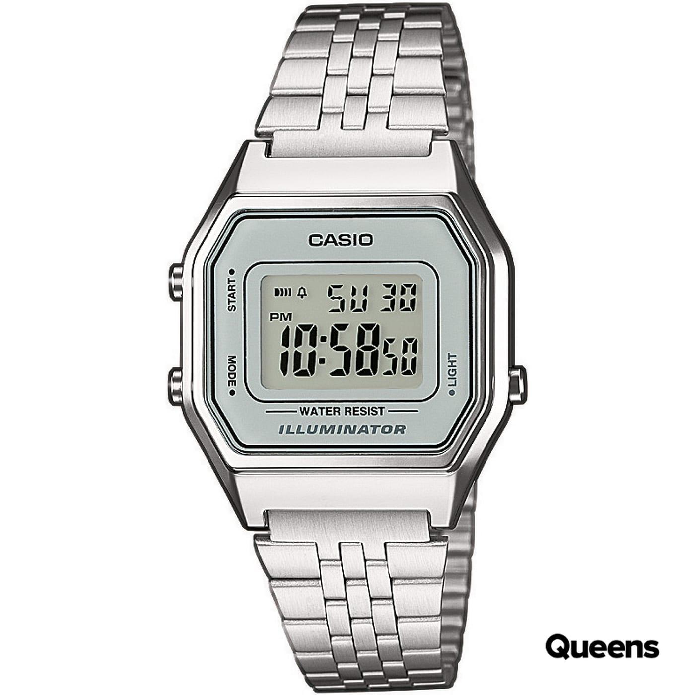 Casio LA 680WEA-7 silber