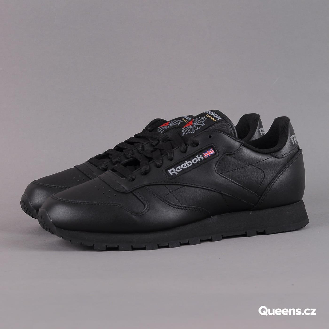Reebok Classic Leather W schwarz