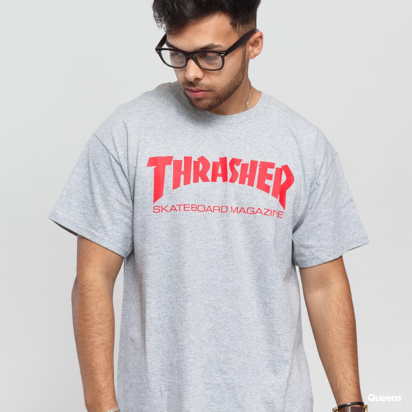 Thrasher Skate Mag grau melange