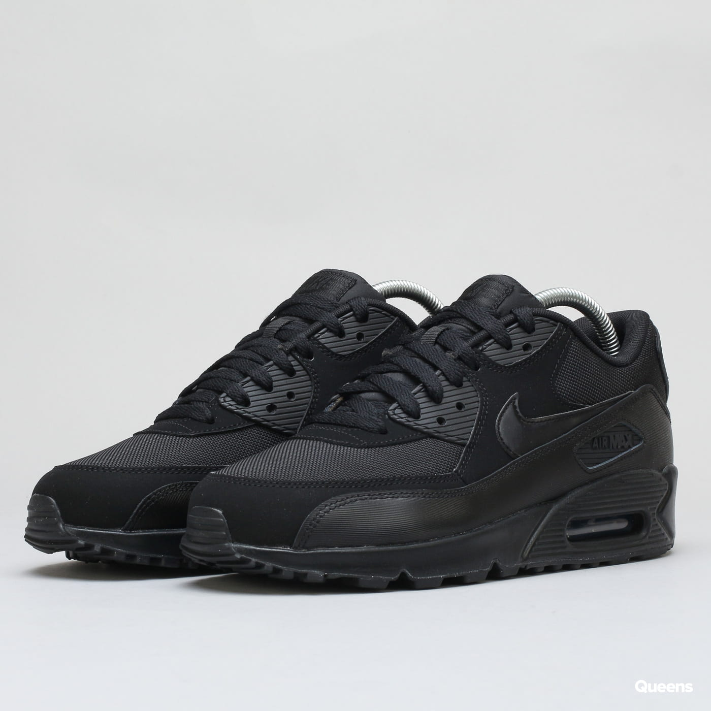 a2125485452c0 Obuv Nike Air Max 90 Essential black / black - black - black (537384-090) –  Queens 💚