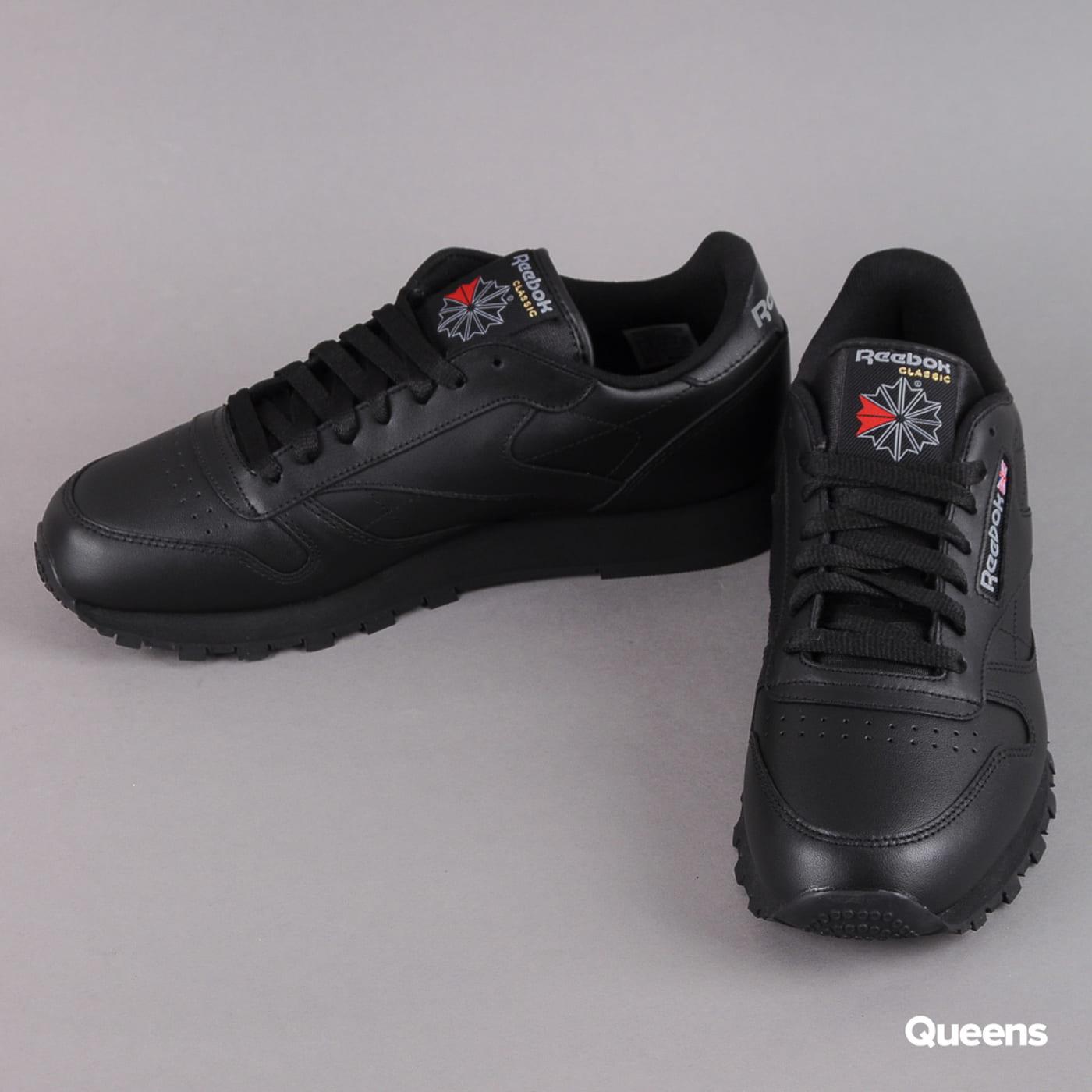 Reebok Classic Leather W black