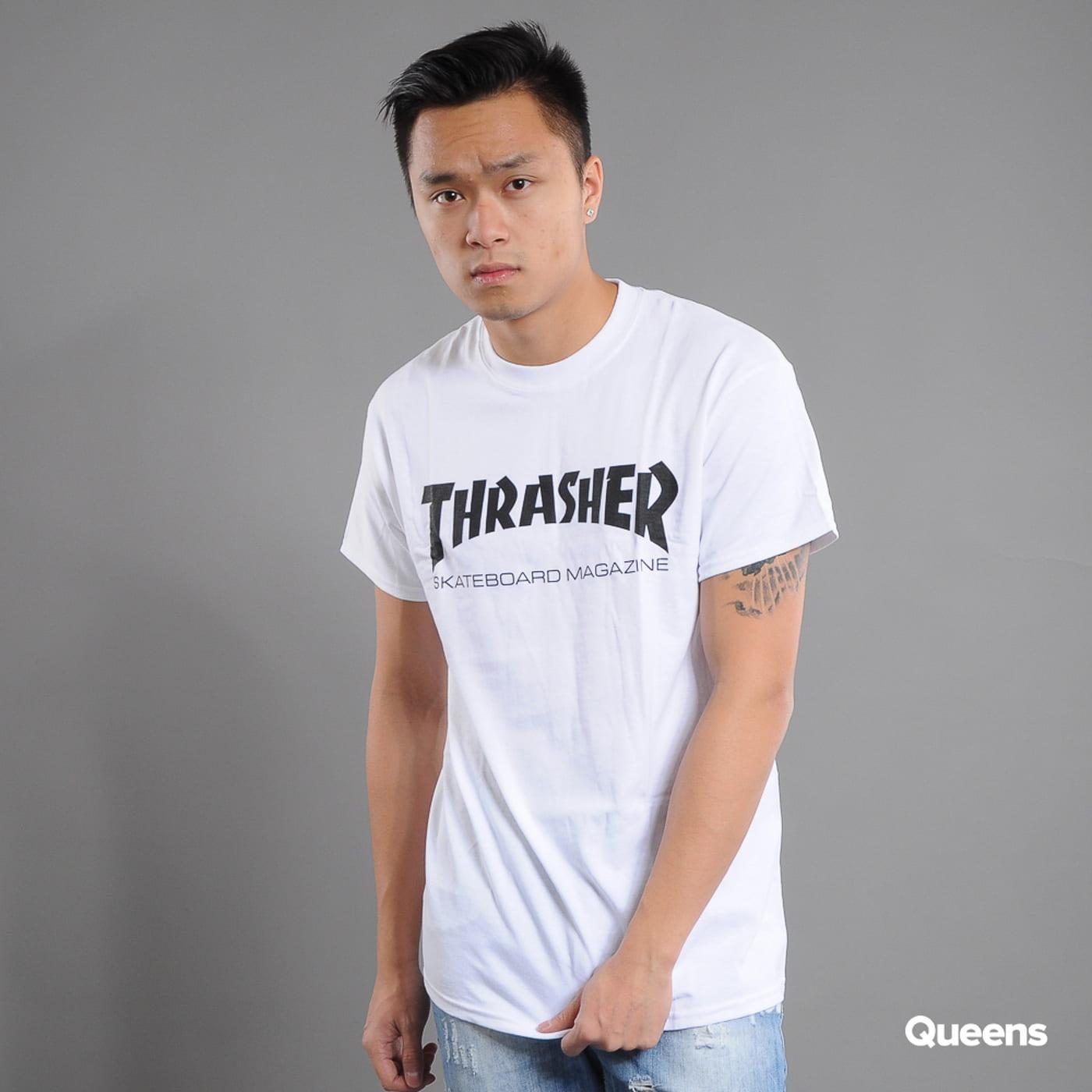 Thrasher Skate Mag biele