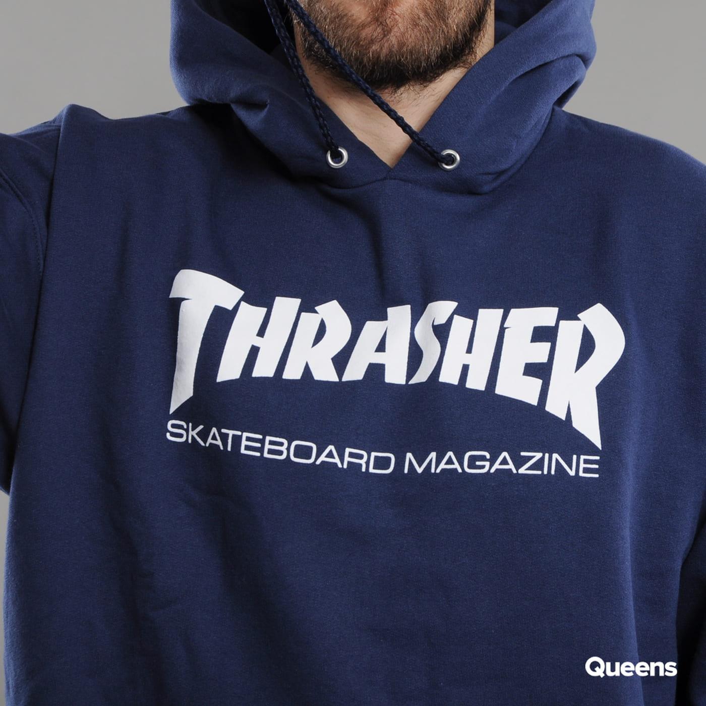 Thrasher Skate Mag Hoody Marine