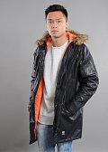 Mass DNM Combat Leather Jacket