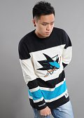 Mitchell & Ness Changing On The Fly Longsleeve San Jose Sharks