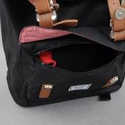 The Herschel Supply CO. Little America Backpack černý / hnědý