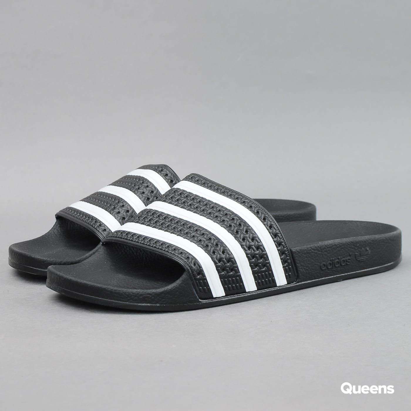 adidas Originals Adilette black1 / wht / black1