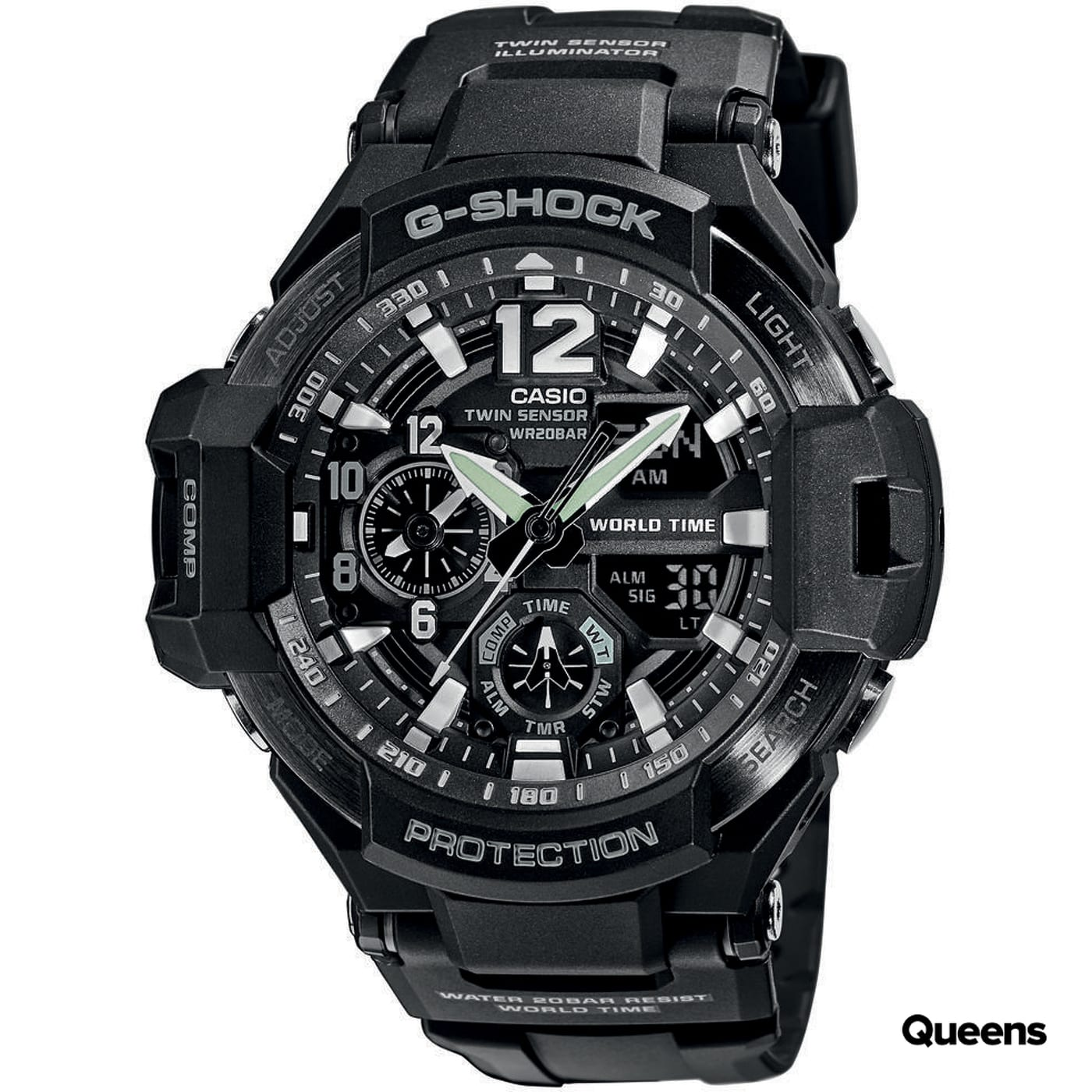 Casio G-Shock GA 1100-1AER black