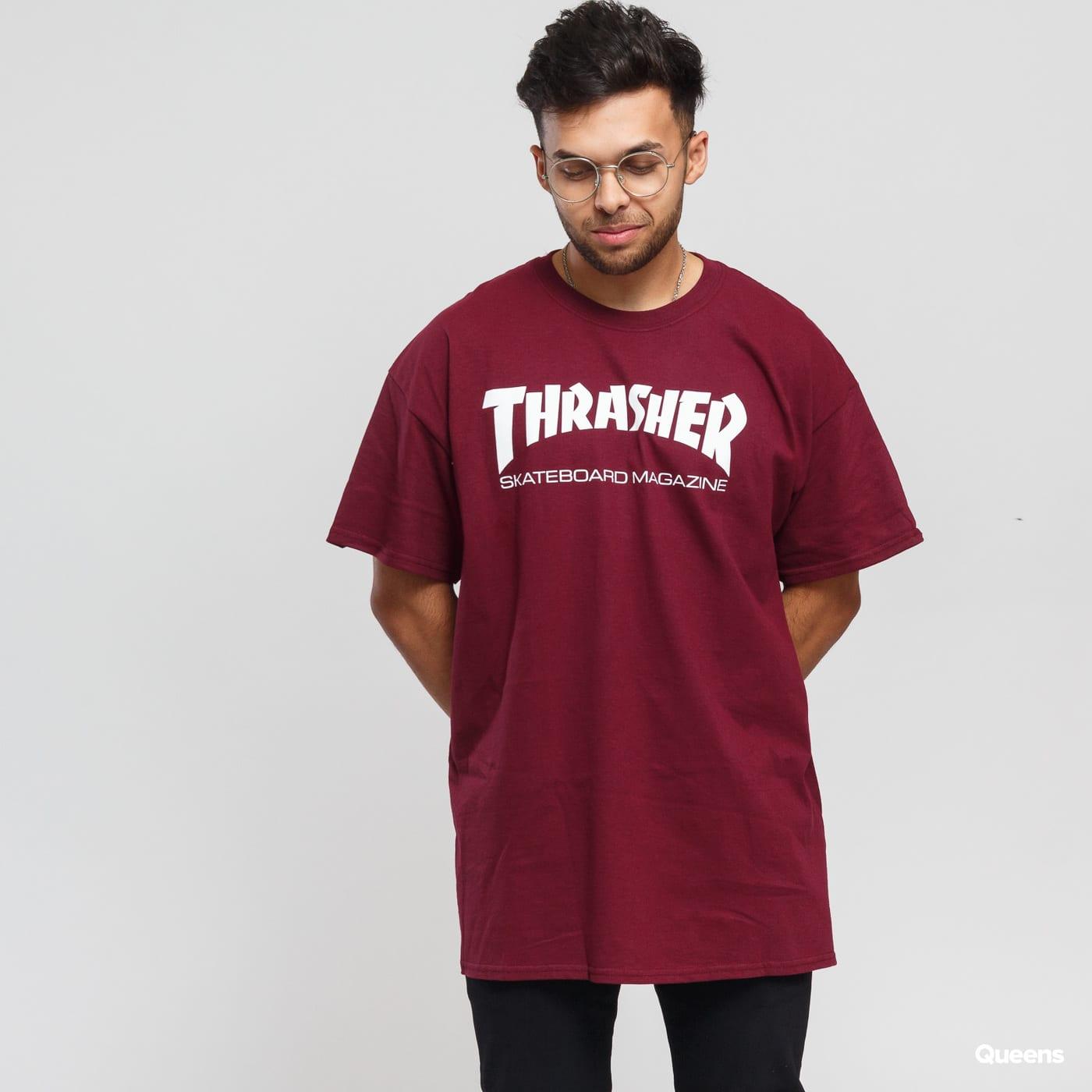 Thrasher Skate Mag bordeaux