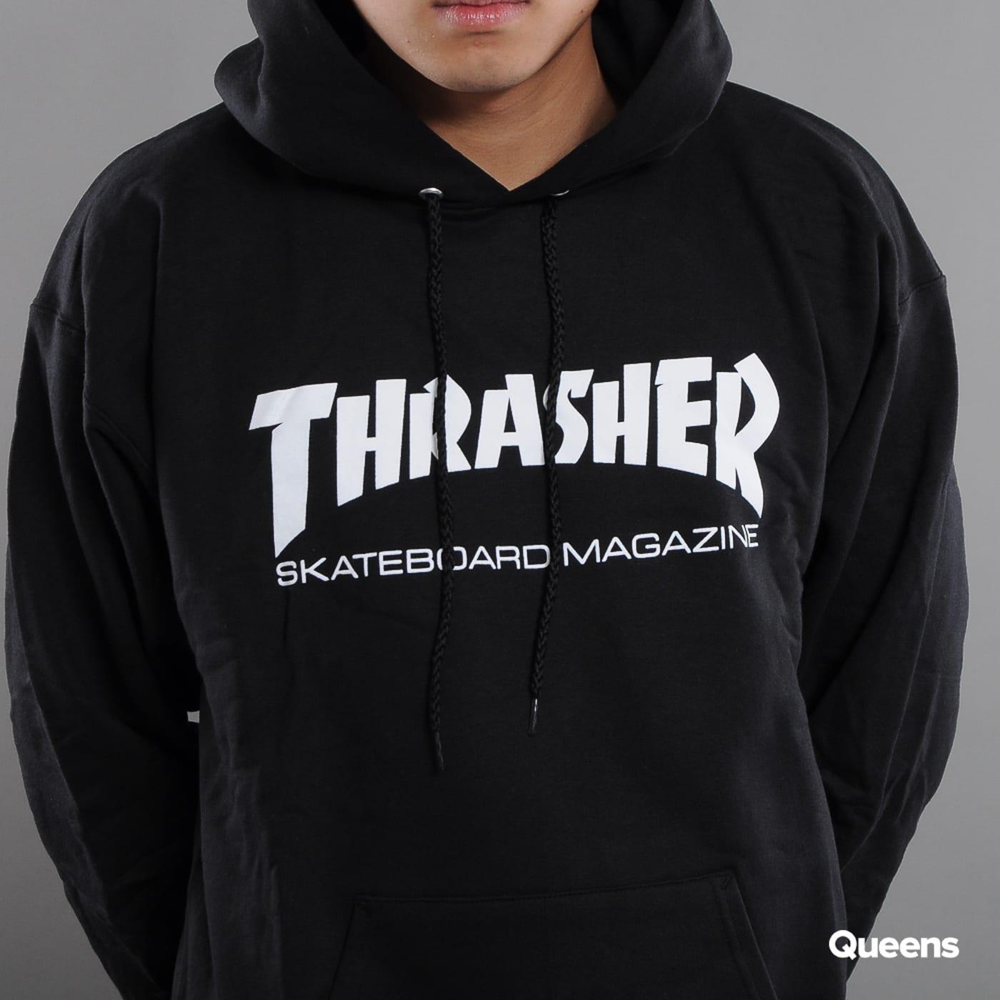 Thrasher Skate Mag Hoody čierna
