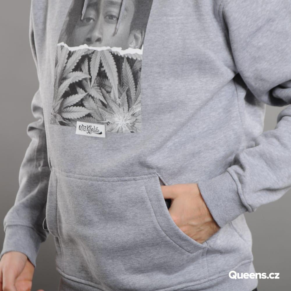 Urban Classics Wiz Khalifa Face Hoody melange gray