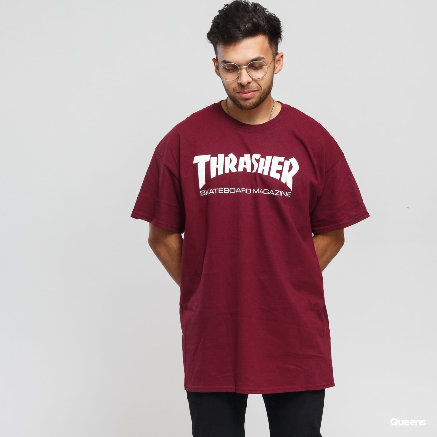Thrasher Skate Mag bordeaux