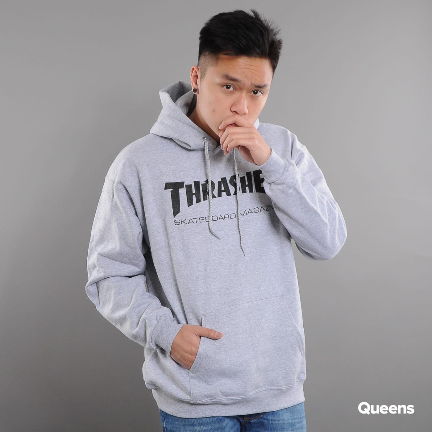 Thrasher Skate Mag Hoody melange gray
