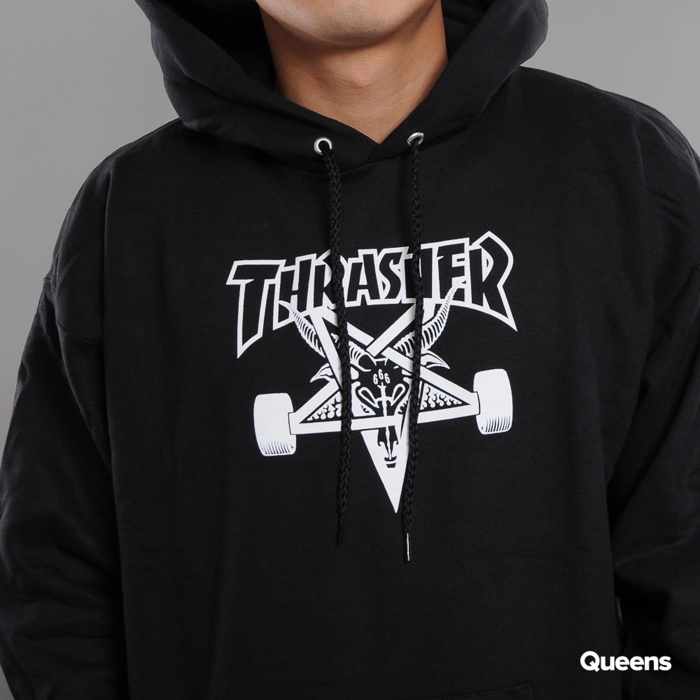 Thrasher Skategoat Hoody schwarz