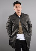 Criminal Damage MA1 Longline Bomber Jacket