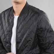 Urban Classics Diamond Quilt Honeycomb černá