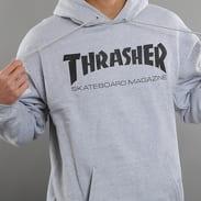 Thrasher Skate Mag Hoody melange šedá