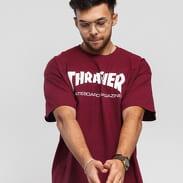 Thrasher Skate Mag vínové