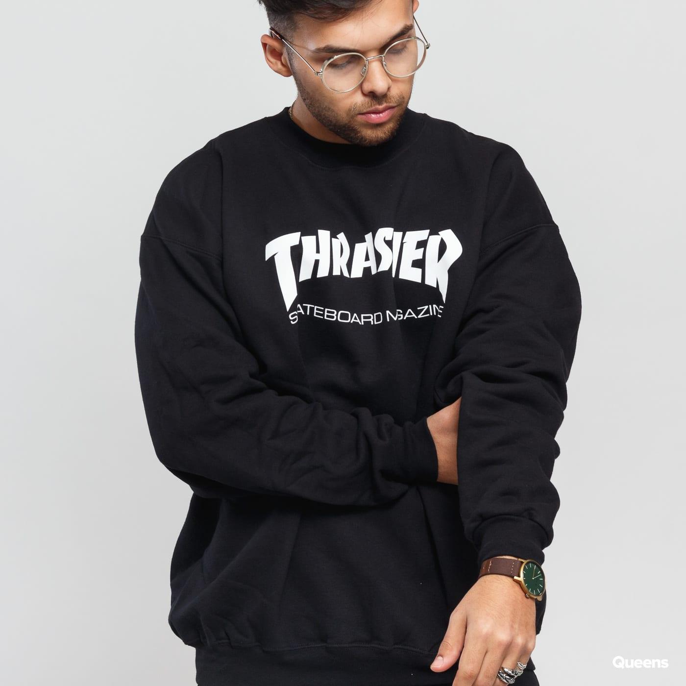 Thrasher Skate Mag Crewneck čierna