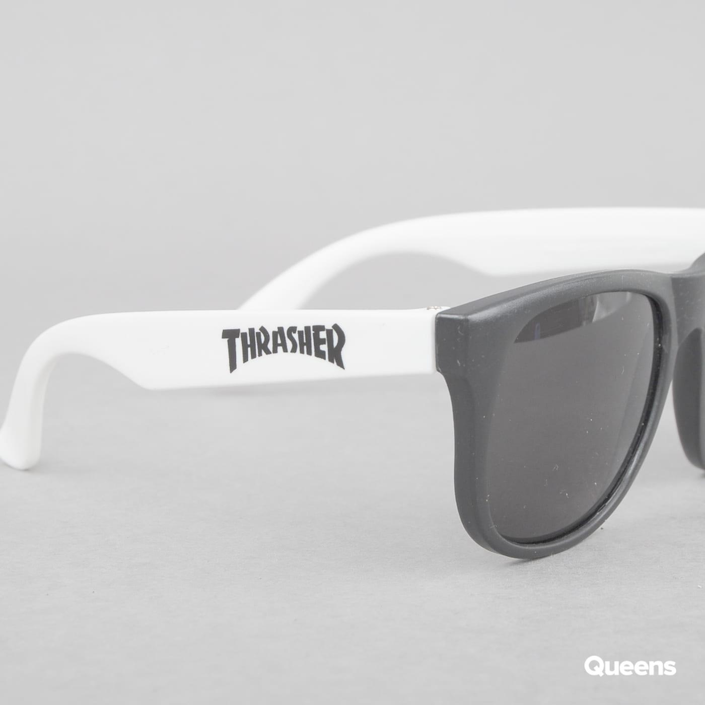 Thrasher Thrasher Sunglasses čierne / biele