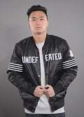 Undefeated Patched Bomber Jacket