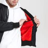Urban Classics Tech Zip Bomber Jacket černá