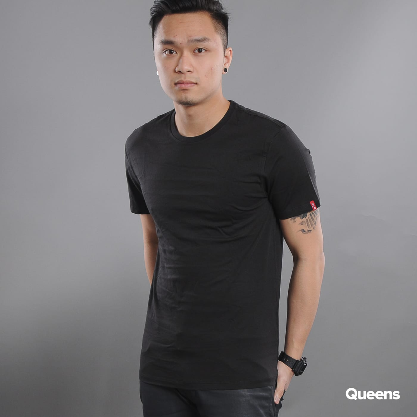 Levi's ® Slim 2 Pack Crew Tee black