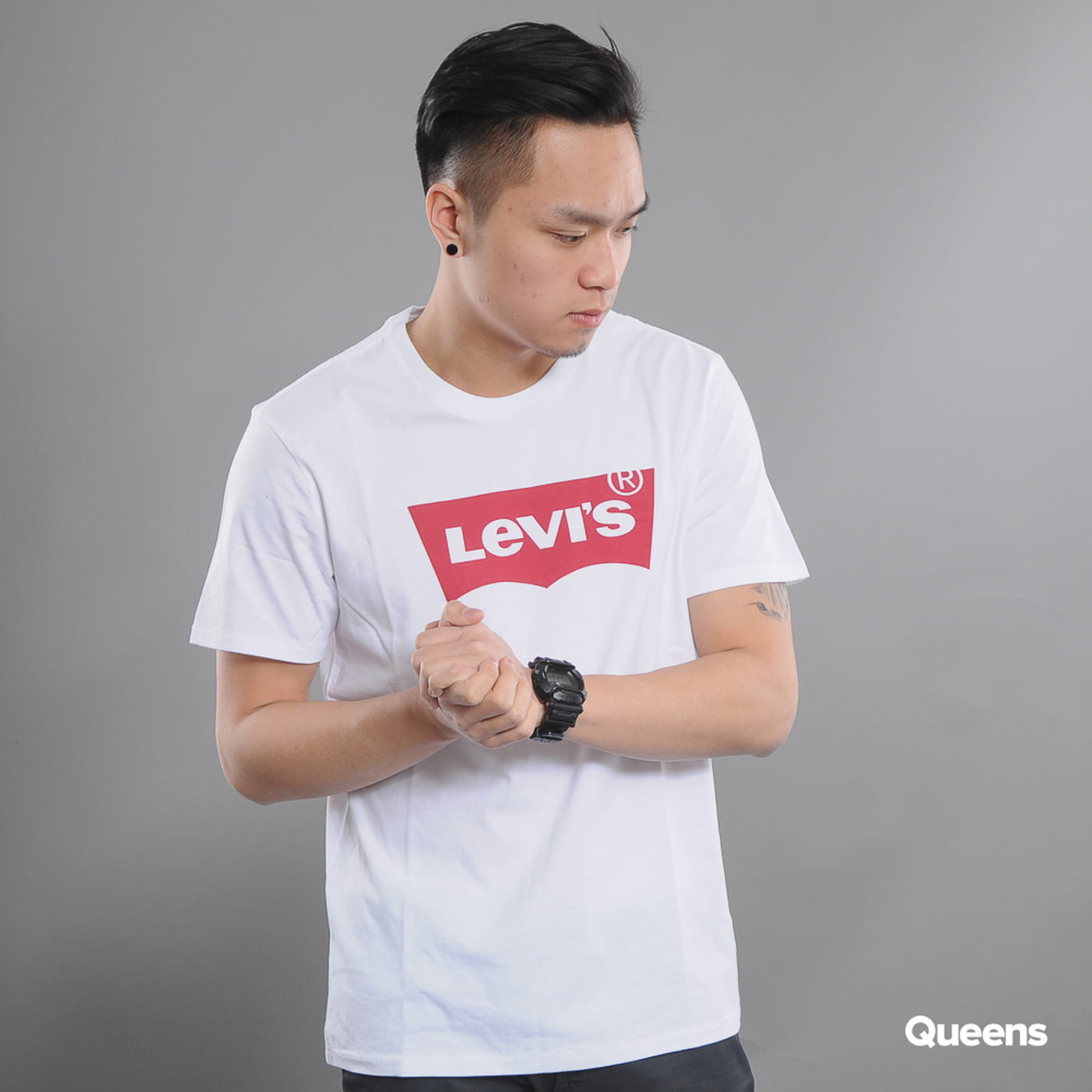 Levi's ® Graphic Setin Neck HM weiß