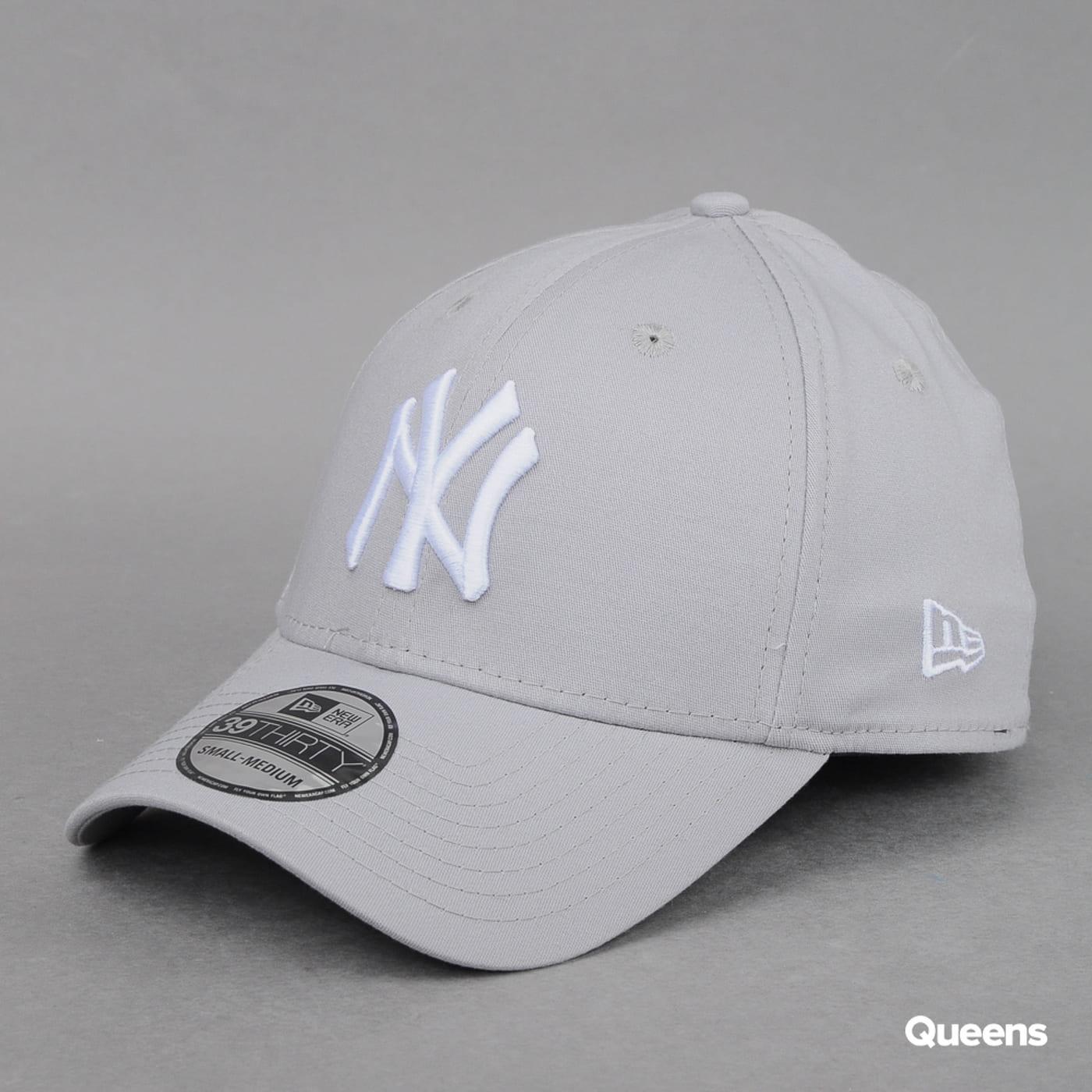 New Era 3930 MLB League Basic NY C/O šedá