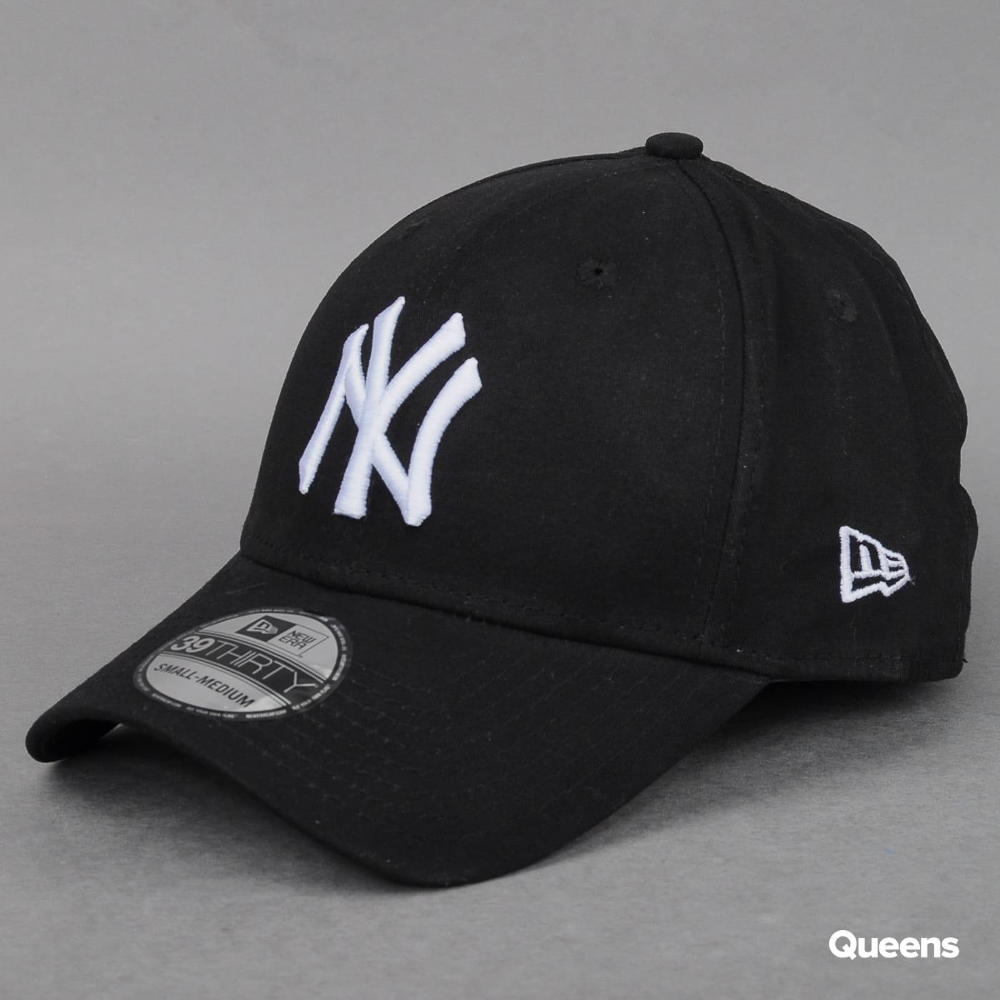 4e80de5fc Šiltovka New Era MLB League Basic NY čierna / biela (10015802) – Queens 💚