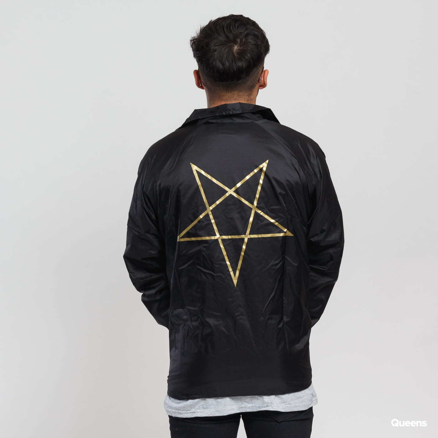 Thrasher Pentagram Coach Jacket schwarz