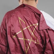 Thrasher Pentagram Coach Jacket vínová